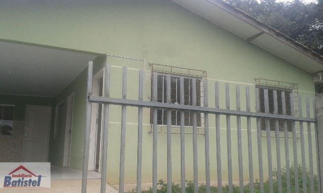 Casa para Alugar no bairro São Caetano em Balsa Nova - PR. 1 banheiro, 3 dormitórios, 2 vagas na garagem, 1 cozinha.  - CA0128