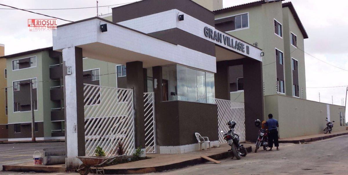 Apartamento a Venda no bairro Santa Inês em Imperatriz - MA. 1 banheiro, 2 dormitórios, 2 vagas na garagem, 1 cozinha,  área de serviço.  - 00149