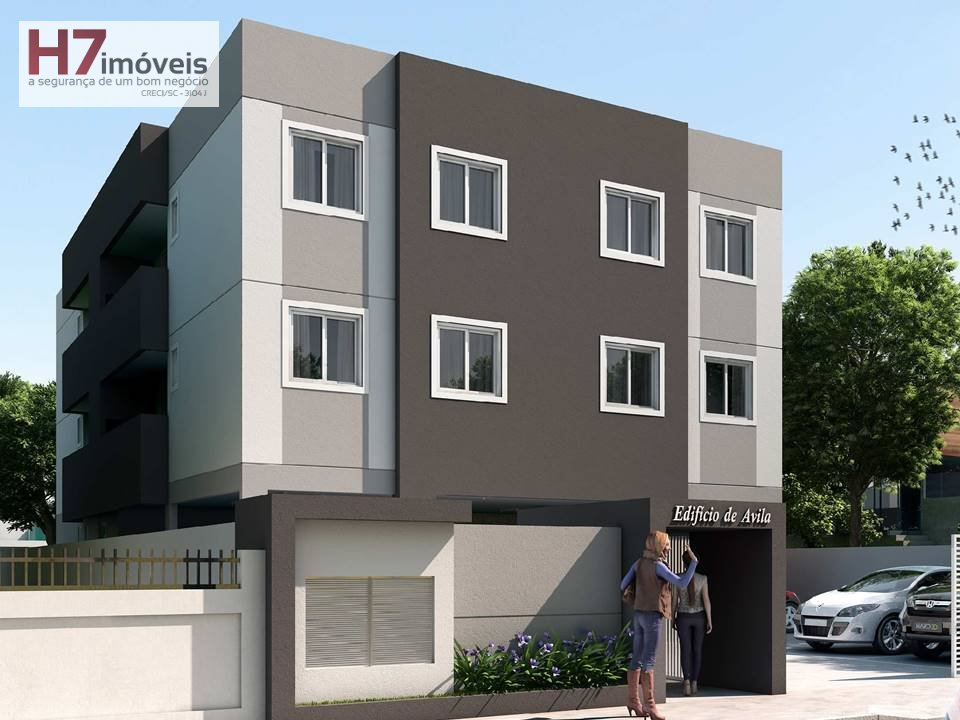 Apartamento a Venda no bairro Boa Vista em Joinville - SC. 1 banheiro, 2 dormitórios, 1 vaga na garagem, 1 cozinha,  área de serviço,  sala de jantar.