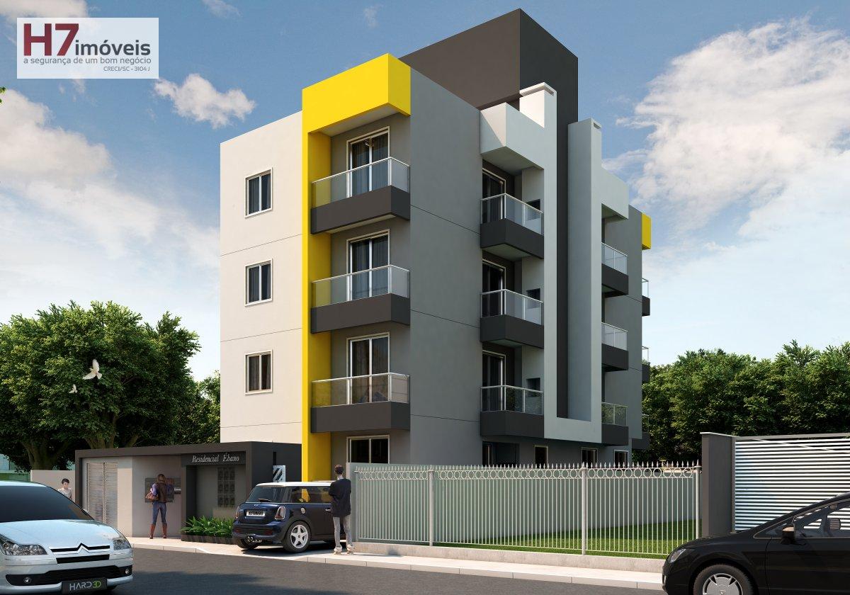 Apartamento a Venda no bairro Costa e Silva em Joinville - SC. 1 banheiro, 3 dormitórios, 1 vaga na garagem, 1 cozinha.