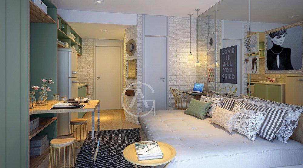 Conhecido Apartamento Studio para Venda em Centro sao paulo-SP YR96