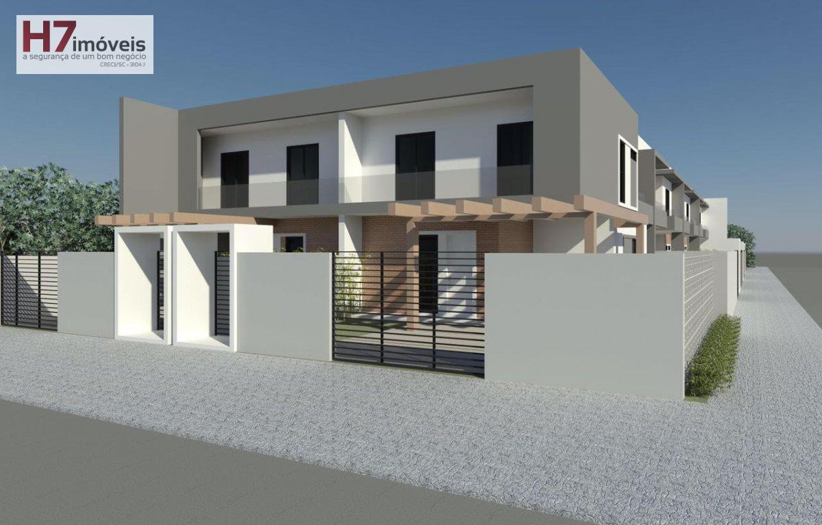 Casa a Venda no bairro Aventureiro em Joinville - SC. 2 banheiros, 3 dormitórios, 1 suíte, 1 vaga na garagem, 1 cozinha,  área de serviço,  lavabo,  s