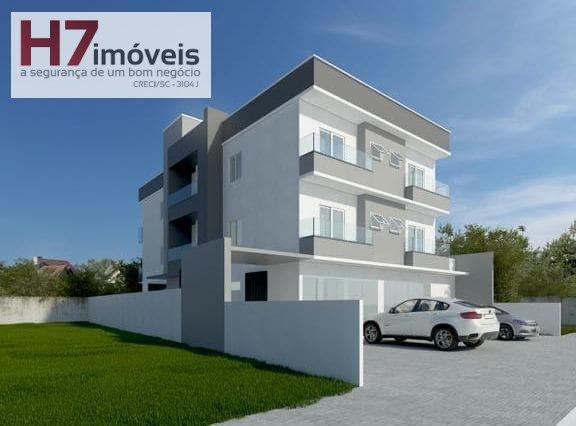 Apartamento a Venda no bairro Jarivatuba em Joinville - SC. 1 banheiro, 2 dormitórios, 1 vaga na garagem, 1 cozinha,  área de serviço,  sala de jantar