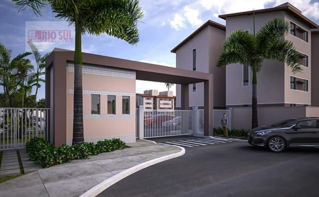 Apartamento para Alugar no bairro João Paulo II em Imperatriz - MA. 1 banheiro, 2 dormitórios, 1 vaga na garagem, 1 cozinha,  área de serviço,  sala d