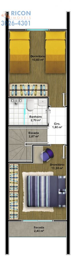 Casa Joinville Iririú 2032485