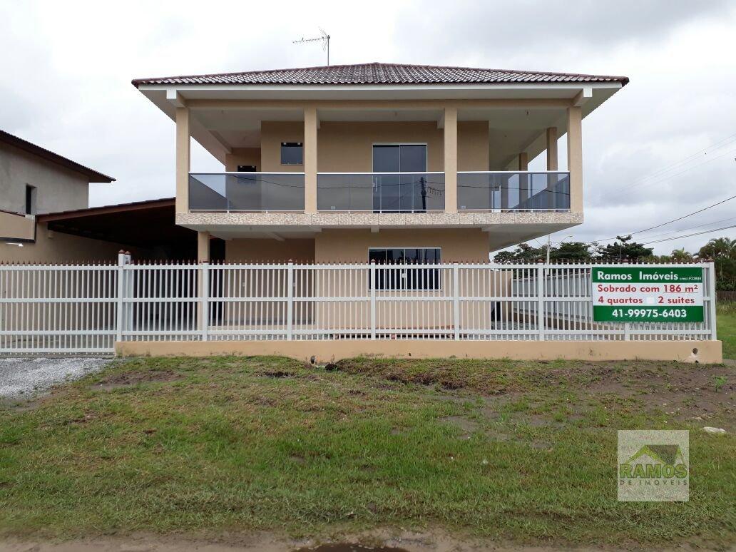 Sobrado a Venda balneário de Shangri-la em Pontal do Paraná - PR. 4 banheiros, 4 dormitórios.