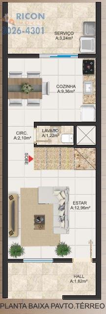 Casa Joinville Comasa 2070569