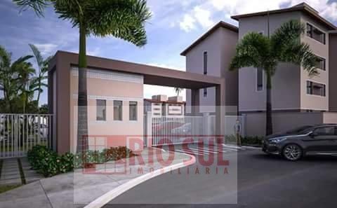 Apartamento para Alugar no bairro João Paulo II em Imperatriz - MA. 1 banheiro, 2 dormitórios, 1 vaga na garagem, 1 cozinha,  área de serviço.  - 0026