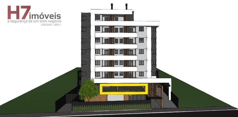 Apartamento a Venda no bairro Costa e Silva em Joinville - SC. 1 banheiro, 2 dormitórios, 1 suíte, 1 vaga na garagem, 1 cozinha,  área de serviço,  sa