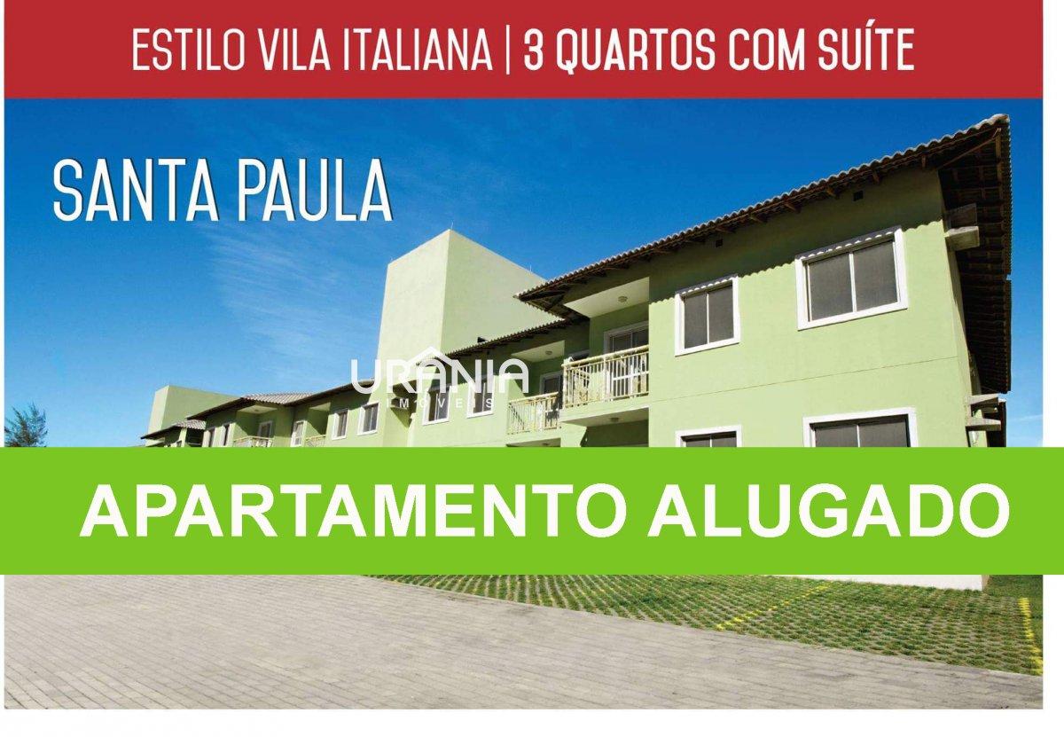 Apartamento para Alugar no bairro Santa Paula ll em Vila Velha - ES. 2 banheiros, 3 dormitórios, 1 suíte, 1 vaga na garagem, 1 cozinha,  área de servi