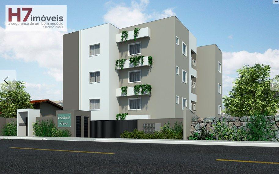 Apartamento a Venda no bairro Guanabara em Joinville - SC. 1 banheiro, 2 dormitórios, 1 suíte, 1 vaga na garagem, 1 cozinha,  área de serviço,  sala d