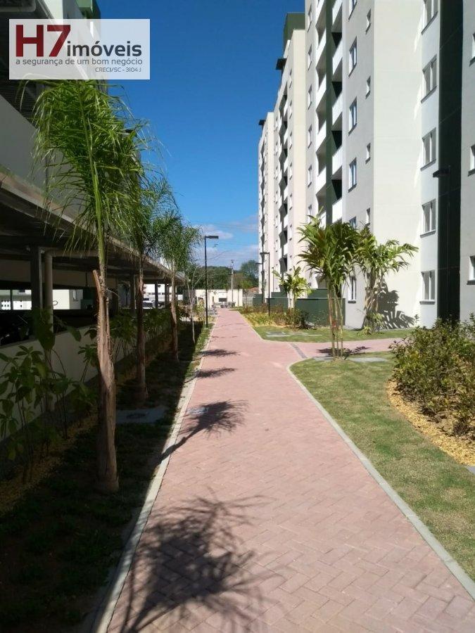 Apartamento para Alugar no bairro Santo Antônio em Joinville - SC. 1 banheiro, 2 dormitórios, 1 vaga na garagem, 1 cozinha,  área de serviço,  sala de