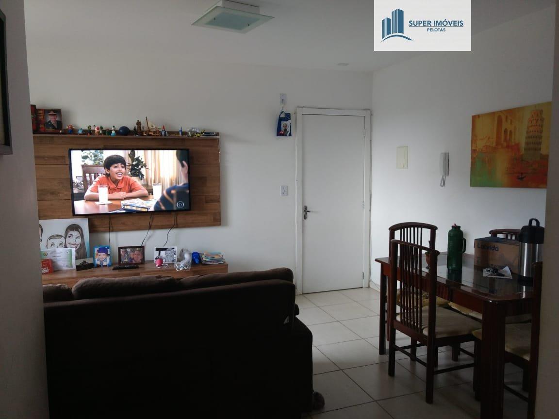Apartamento a Venda no bairro Fragata em Pelotas - RS. 1 banheiro, 2 dormitórios, 1 vaga na garagem, 1 cozinha,  sala de jantar.  - 319