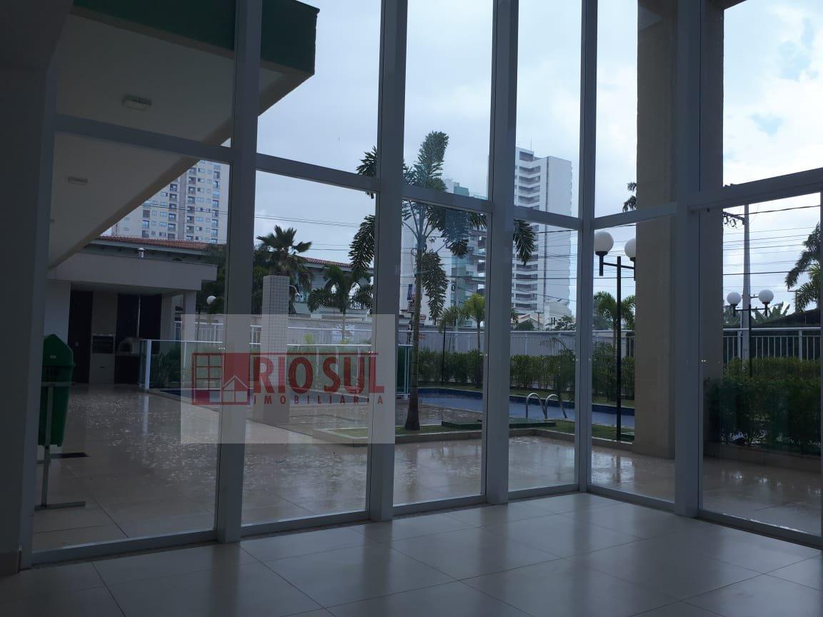 Apartamento para Alugar no bairro Três Poderes em Imperatriz - MA. 3 banheiros, 3 dormitórios, 2 suítes, 2 vagas na garagem, 1 cozinha,  área de servi