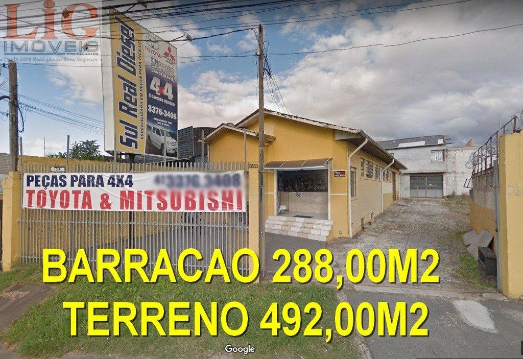 Galpão/Pavilhão a Venda no bairro Hauer em Curitiba - PR. 2