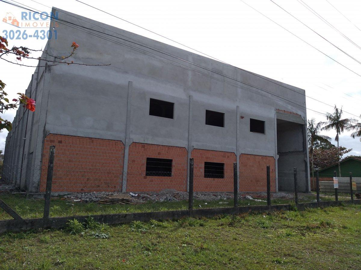 Pavilhão/Galpão/Depósito à venda  no Areias Pequenas - Araquari, SC. Imóveis