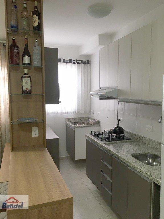 Apartamento a Venda no bairro Loteamento Ouro Verde I em Campo Largo - PR. 1 banheiro, 2 dormitórios, 1 vaga na garagem, 1 cozinha,  área de serviço.
