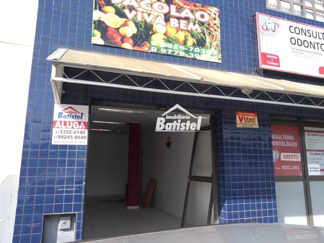 Sala comercial para Alugar no bairro Centro em Campo Largo - PR. 1 banheiro.  - SA0004
