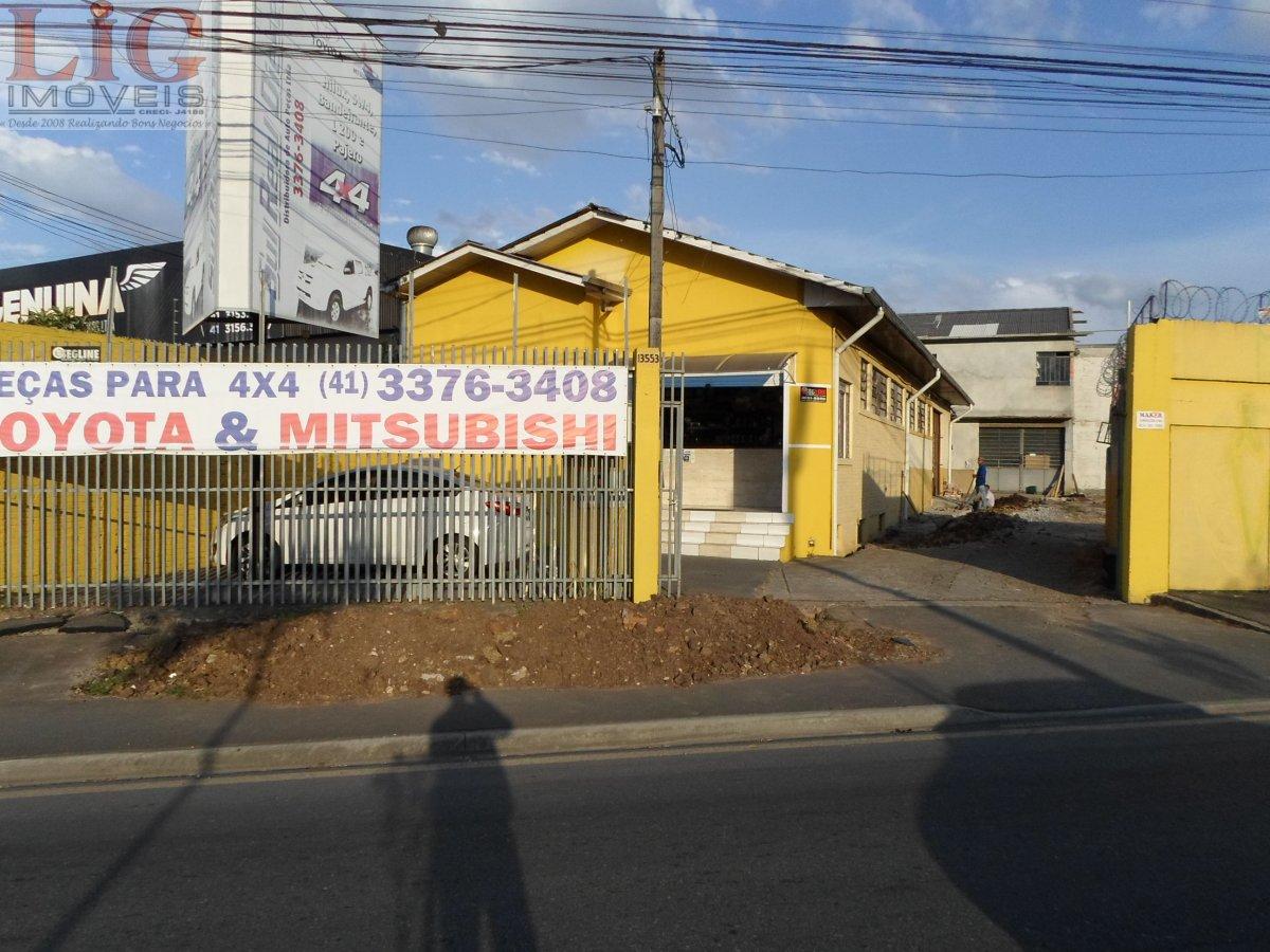 Galpão/Pavilhão a Venda no bairro Hauer em Curitiba - PR. 2 banheiros.  - BR-935
