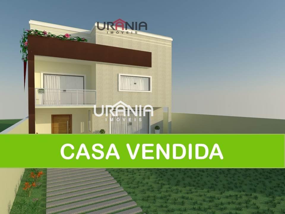 Casa a Venda no bairro Santa Paula ll em Vila Velha - ES. 3 banheiros, 3 dormitórios, 1 suíte, 4 vagas na garagem, 1 cozinha,  closet,  área de serviç
