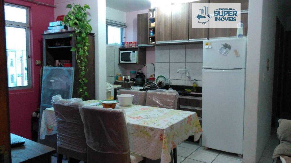 Apartamento a Venda no bairro Centro em Pelotas - RS. 1 banheiro, 2 dormitórios, 1 vaga na garagem, 1 cozinha,  sala de estar.  - 507
