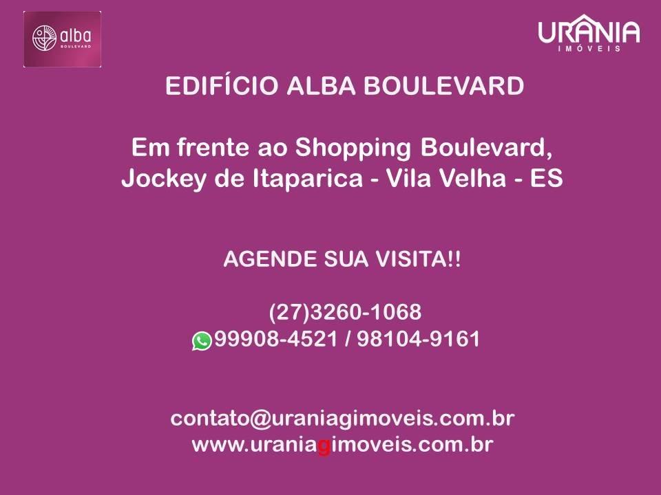 Apartamento a Venda no bairro Jockey de Itaparica em Vila Velha - ES. 2 banheiros, 2 dormitórios, 1 suíte, 1 vaga na garagem, 1 cozinha,  área de serv