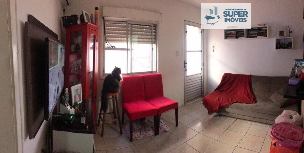 Apartamento a Venda no bairro São Gonçalo em Pelotas - RS. 1 banheiro, 2 dormitórios, 1 vaga na garagem, 1 cozinha,  sala de estar.  - 601
