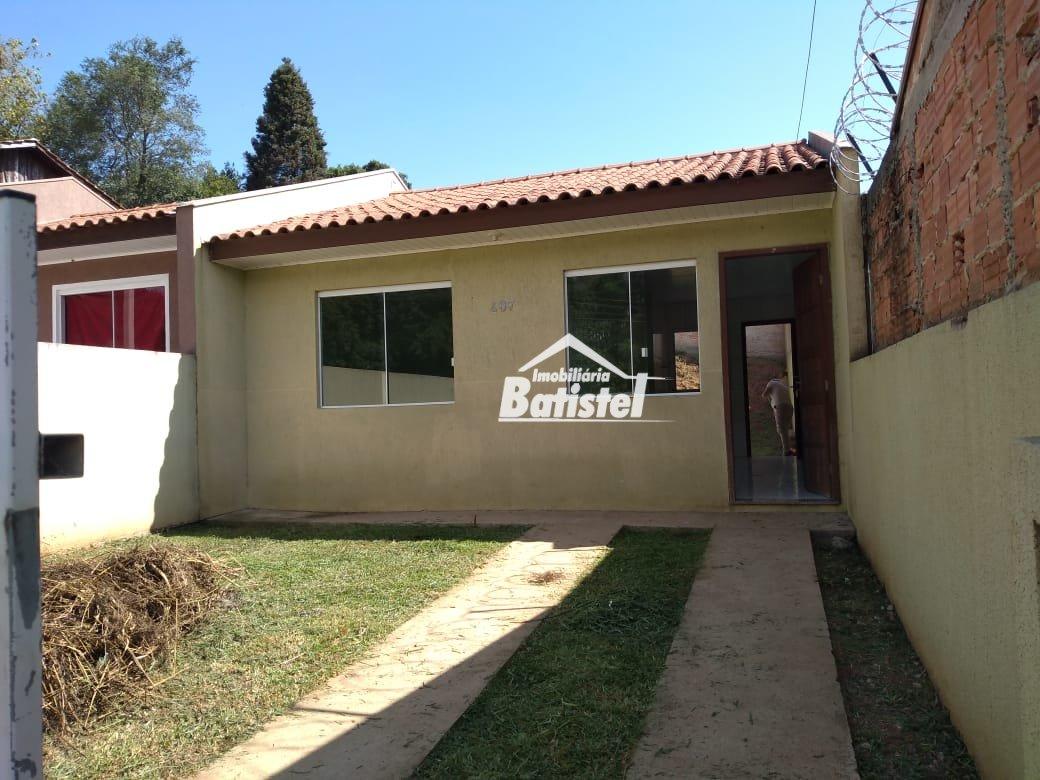 Casa para Alugar no bairro Jardim das Acácias em Campo Largo - PR. 1 banheiro, 2 dormitórios, 1 vaga na garagem, 1 cozinha,  área de serviço.  - CA017