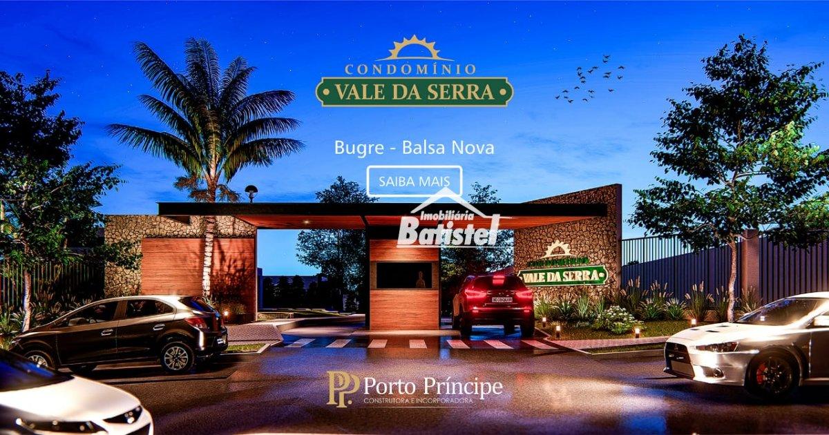 Casa a Venda no bairro Bugre em Balsa Nova - PR. 1 banheiro, 3 dormitórios, 2 vagas na garagem, 1 cozinha,  área de serviço,  sala de estar.  - CA0258