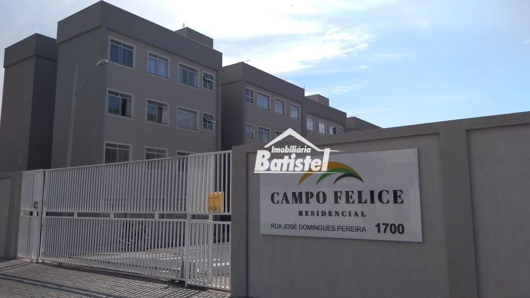 Apartamento para Alugar no bairro Loteamento Ouro Verde I em Campo Largo - PR. 1 banheiro, 2 dormitórios, 1 vaga na garagem, 1 cozinha,  área de servi