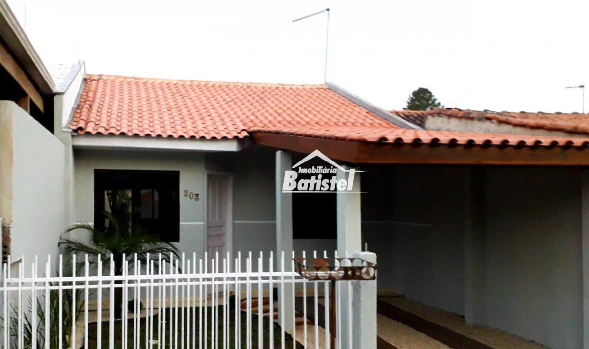 Casa a Venda no bairro Jardim das Acácias em Campo Largo - PR. 1 banheiro, 2 dormitórios, 1 vaga na garagem, 1 cozinha,  área de serviço.  - CA0238
