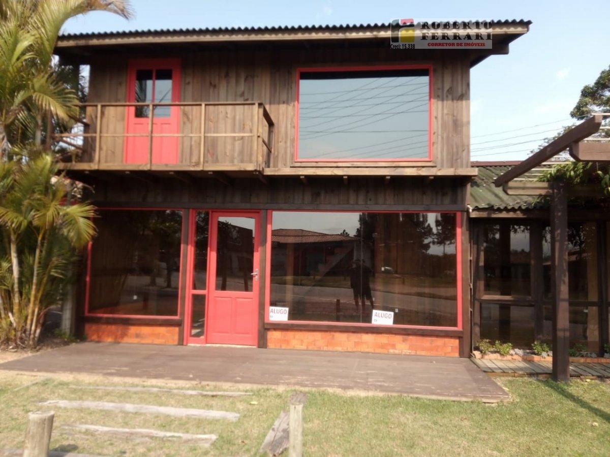 Loja para Alugar no bairro Ibiraquera em Imbituba - SC. 1 banheiro, 1 dormitório, 1 vaga na garagem.  - 236