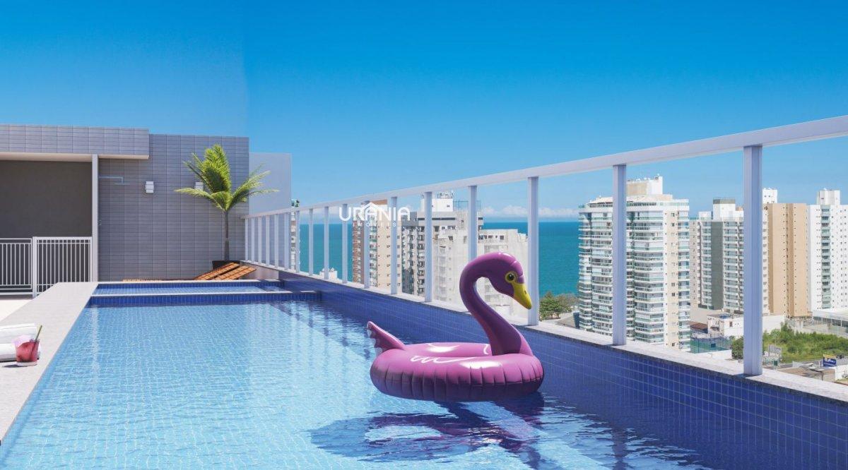 Apartamento a Venda no bairro Praia de Itaparica em Vila Velha - ES. 2 banheiros, 3 dormitórios, 1 suíte, 2 vagas na garagem, 1 cozinha,  área de serv