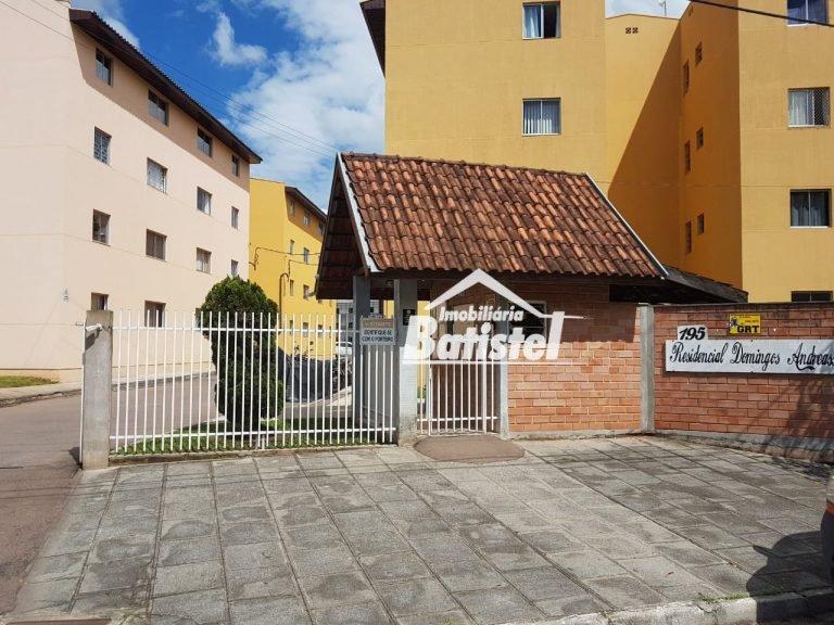 Apartamento a Venda no bairro Bom Jesus em Campo Largo - PR. 1 banheiro, 2 dormitórios, 1 vaga na garagem, 1 cozinha,  sala de estar.  - AP0048