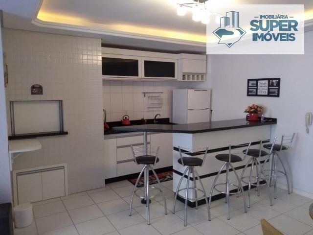 Apartamento a Venda no bairro Centro em Tramandaí - RS. 1 banheiro, 2 dormitórios, 1 vaga na garagem, 1 cozinha,  área de serviço,  sala de estar,  sa