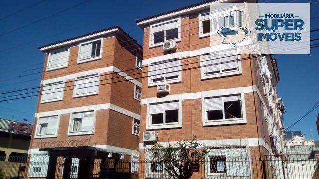 Apartamento a Venda no bairro Centro em Pelotas - RS. 1 banheiro, 2 dormitórios, 1 cozinha,  área de serviço,  sala de jantar.  - 972