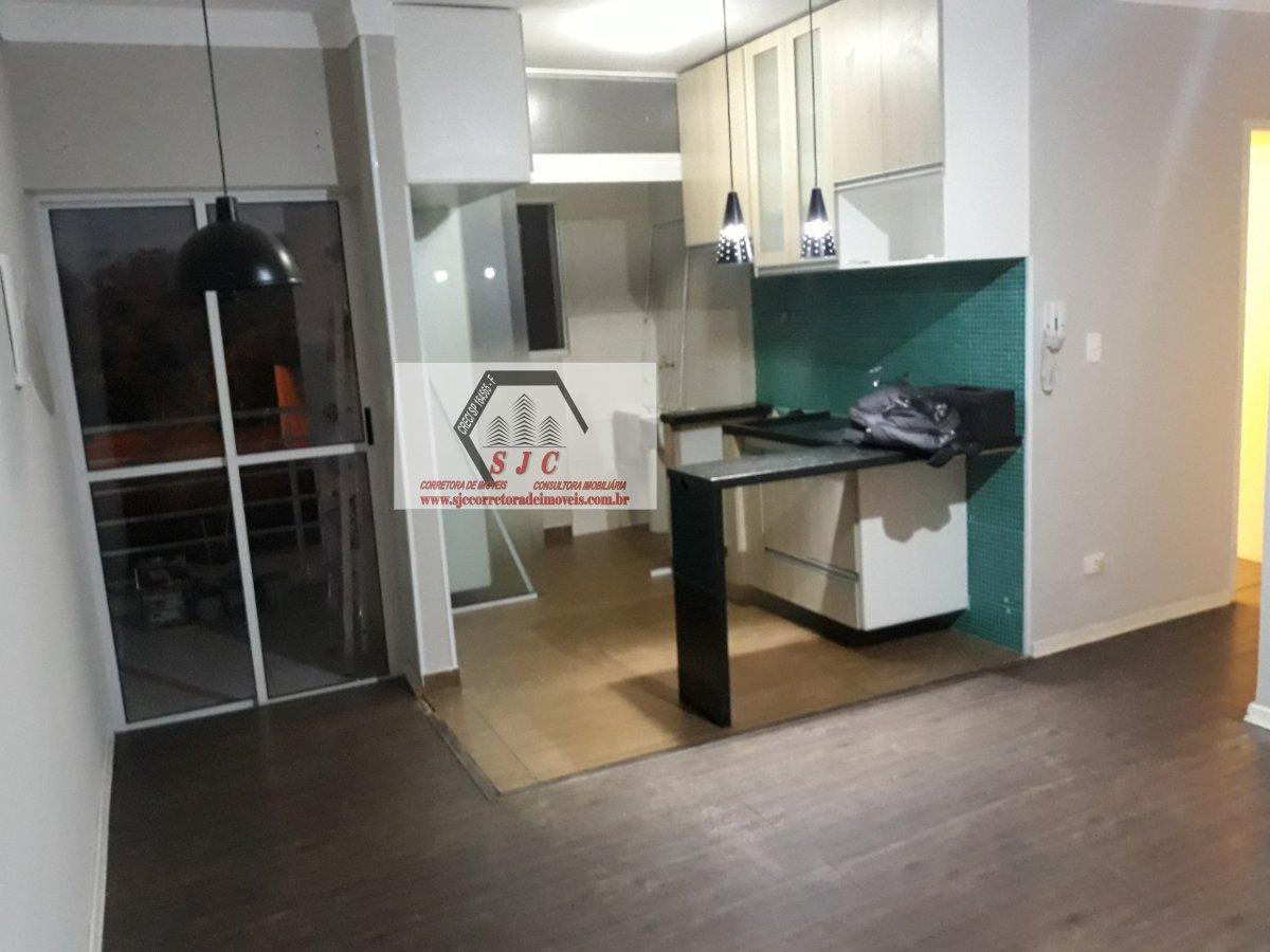 Apartamento a Venda no bairro Parque Universitário em Americana - SP. 1 banheiro, 3 dormitórios, 1 vaga na garagem, 1 cozinha,  área de serviço,  sala