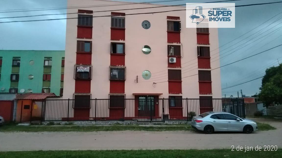 Apartamento a Venda no bairro América em Rio Grande - RS. 1 banheiro, 2 dormitórios, 1 cozinha,  área de serviço,  sala de estar,  sala de jantar.  -