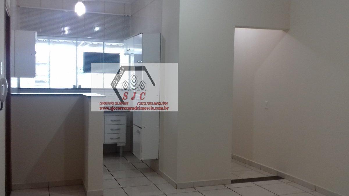 Apartamento para Alugar no bairro Vila Santa Maria em Americana - SP. 1 banheiro, 2 dormitórios, 11 vagas na garagem,  área de serviço,  sala de estar