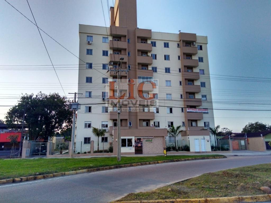 Apartamento a Venda no bairro Boehmerwald em Joinville - SC. 1 banheiro, 2 dormitórios, 1 vaga na garagem, 1 cozinha,  área de serviço,  sala de janta