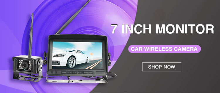 "BST-2 7""Car Wireless Camera System"