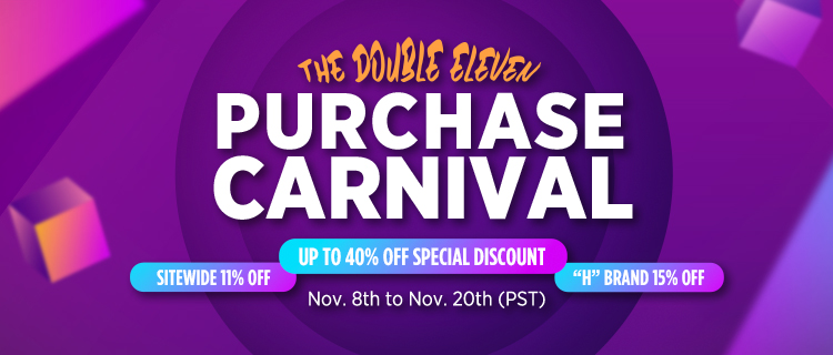 The Double Eleven Purchase Carnival