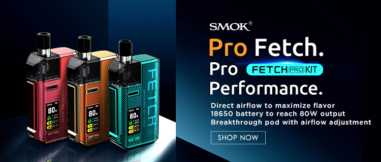 80W SMOK Fetch Pro Pod Mod System Kit