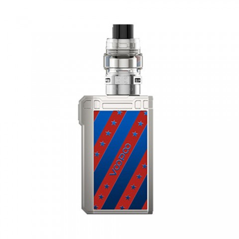 120W VOOPOO Alpha Zip Mini TC Kit with Maat Tank - 4400mAh