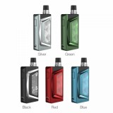 [Irreplaceable Coil] WISMEC PREVA Pod System Kit - 1050mAh, Black 3ml Pod Version-1