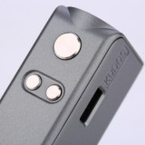 [With Warnings] 80W Hippovape Kudos Squonk MOD - Iron Grey-2