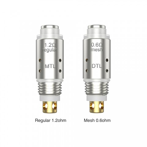 cheap [With Warnings] Syiko Galax Replacement coil 5 pcs/pack - 1.2ohm Regular MTL Coil