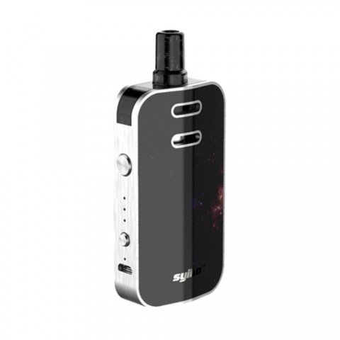cheap [With Warnings] Syiko Galax Pod Starter Kit - 1200mAh, Silver&Star