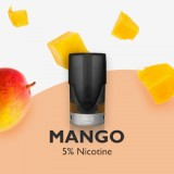 [With Warnings] VFOLK Pro Pre-filled Disposable Pod Cartridge - 1.2ml 2pcs/pack, Mango-1