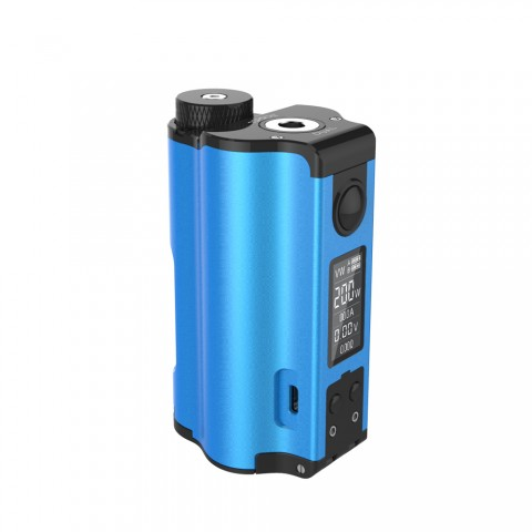 cheap 200W DOVPO Topside Dual TC Squonk MOD Top Fill MOD - Blue Standard Edition